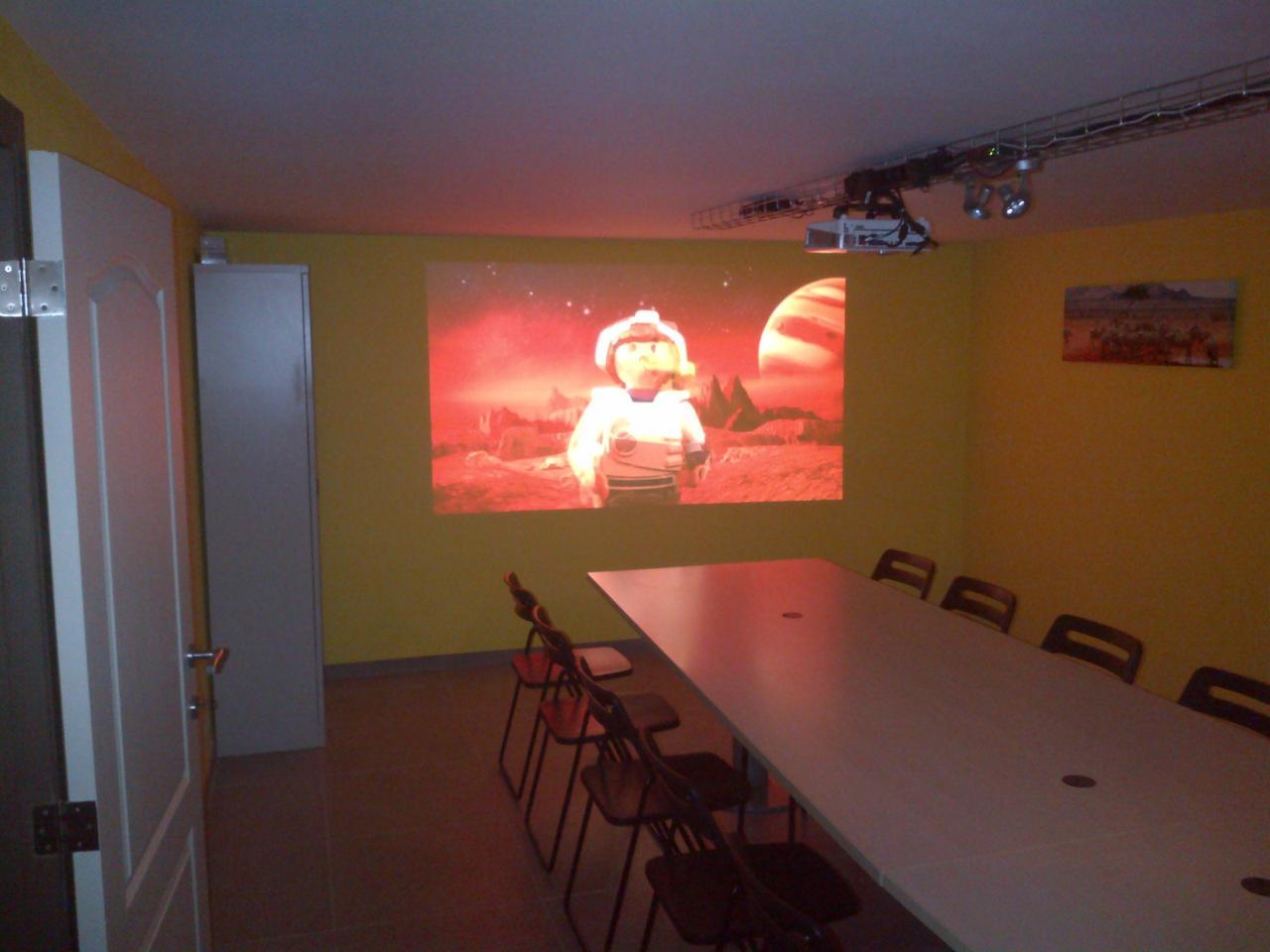 Salle polyvalente (Réunion, Cinéma)